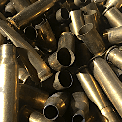 Yellow Brass Gun Cartridges